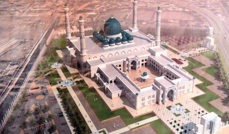 Во сколько обойдется содержание самой большой мечети в Таджикистане?