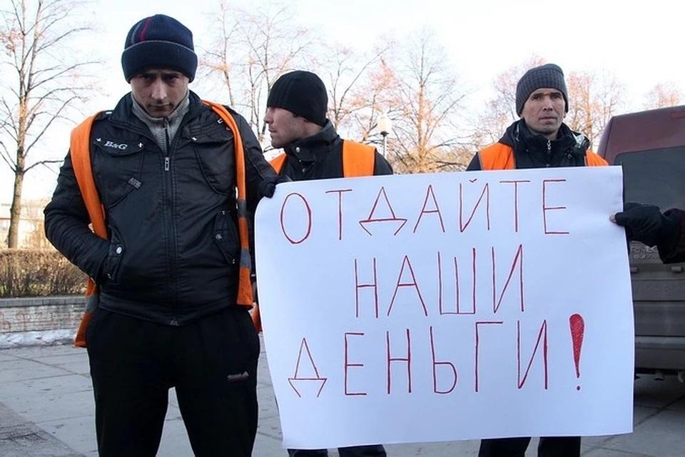 Таджикским мигрантам не выплачивают зарплаты