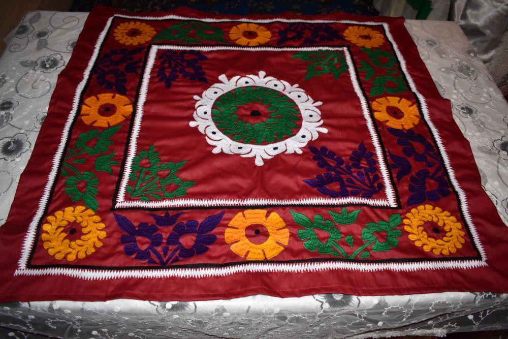 Поясной платок с узорами чакан