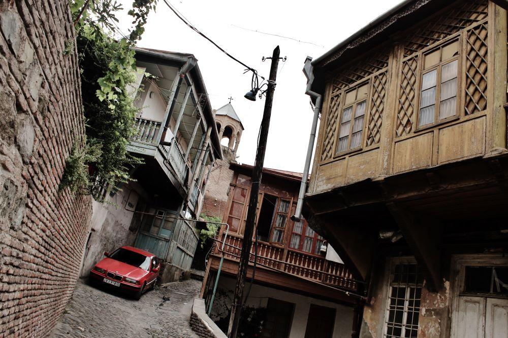 в Тбилиси. Грузия
