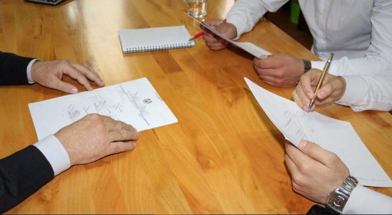 застройщик и собственник, подписание договора