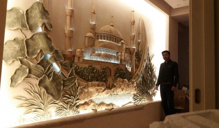 Искусство на стенах. Кто в Таджикистане развивает искусство барельефа