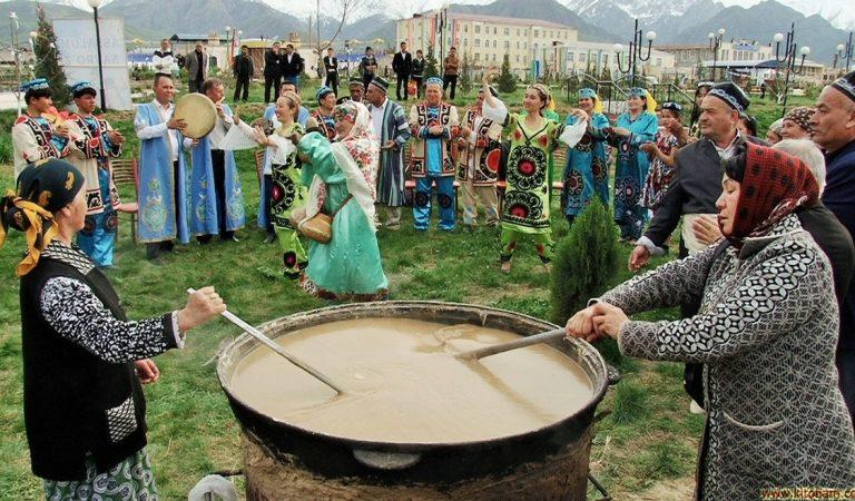 Суманак, дангича или бодж. Какие блюда готовят таджики на Навруз?
