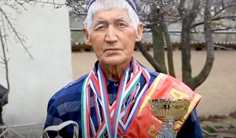 70-летний спортсмен из Истаравшана хочет попасть в книгу рекордов Гиннеса