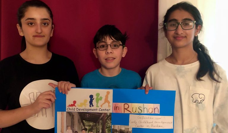 Как мама и дочь в США запустили кампанию по сбору средств для ремонта детсада в Рушане