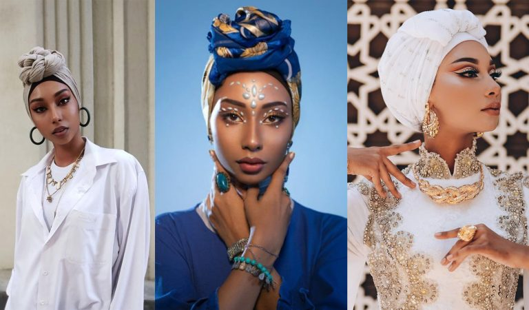 Модель в хиджабе. Таджикистанка вышла на подиум ломать стереотипы