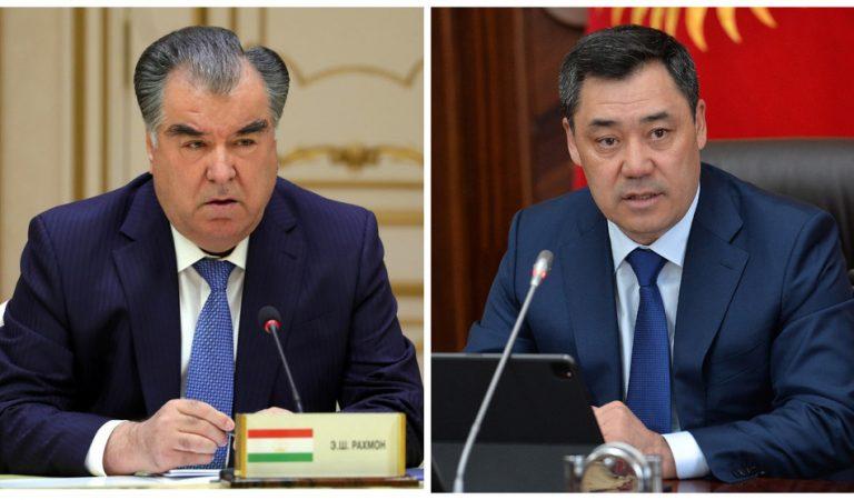 Представители гражданского общества Таджикистана и Кыргызстана обратились к президентам двух республик