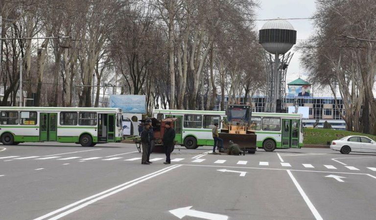 Центр Душанбе закроют на два дня. Какие улицы будут перекрыты, мы показали на карте